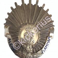 Insigna de 7 ani a Scolii Superioara de Razboi - Argint - Weiss