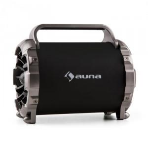Auna Blaster M difuzor portabil Bluetooth cu LED-efect luminos, 2x microfoane, AUX SD FM USB