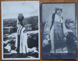 4 carti postale interbelice , costume populare romanesti , 1