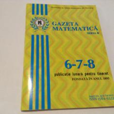 GAZETA MATEMATICA NR 6-7-8 /2015--RF13/0