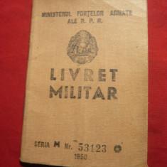 Livret Militar 1951 , fotografia smulsa