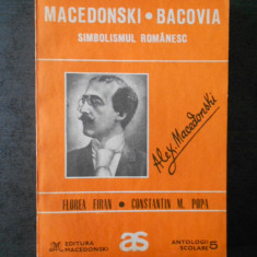 MACEDONSKI * BACOVIA - SIMBOLSMUL ROMANESC