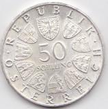 Lot 50 Schilling Argint Austria, Europa