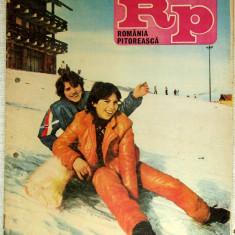 Romania Pitoreasca cu harta Mtii.Bistritei- mart. 1986