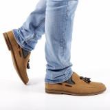 Pantofi barbati Eamon khaki