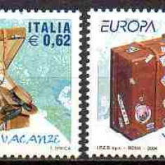 ITALIA 2004, EUROPA CEPT, serie neuzată, MNH