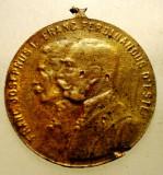 1.913 MEDALIE FRANZ JOSEPH FRANCISC FERDINAND MANEVRE MILITARE MEZOHEGYES 1912