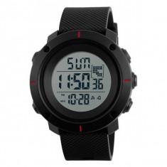 Ceas Barbatesc SKMEI CS1078, curea silicon, digital watch, functie cronometru, alarma