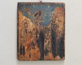 Nasterea lui Isus icoana  pe lemn  secolul 18