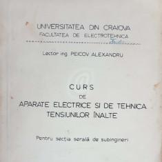 Curs de aparate electrice si de tehnica tensiunilor inalte (pentru sectia serala de subingineri)