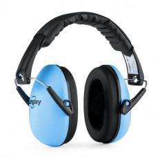 Langley Earo, căști pasive protectoare pentru copii, dimensiune medie, culoare albastră