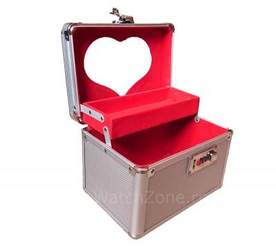 Caseta Aluminiu Pentru Organizarea Bijuteriilor foto