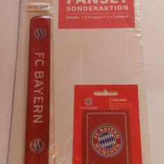 Fanset suporter fotbal - BAYERN MUNCHEN (magnet + bratara)
