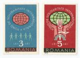 *Romania, Lot 459 cu 2 timbre fiscale de ajutor, 1973, MNH, Nestampilat