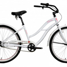 Bicicleta Oras Devron Urbio LU2.6 M 430mm White Mist 26