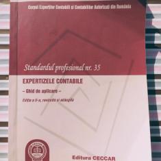 Standardul profesional nr 35, expertize contabile, 270 pagini, 20 lei