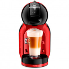Espressor Nescafe Dolce Gusto KP120H31 Mini Me, 1500W, 15 bari, Selectare manuala a tipului de bautura, 0.8L, Krups