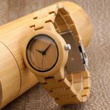 Cumpara ieftin Set ceasuri din lemn Bobo Bird pentru cupluri, curea din lemn