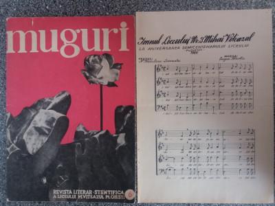 Revista Muguri a Liceului Mihai Viteazul Ploiesti + imn / C37P foto