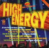 VINIL  Selectii  Various – High Energy   - VG+  -