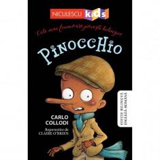 Pinocchio - Carlo Collodi (repovestire de Claire O'Brien)