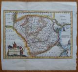 Harta de secol 17 , Dacia , Daciarum Moesiarum que Vetus Descriptio
