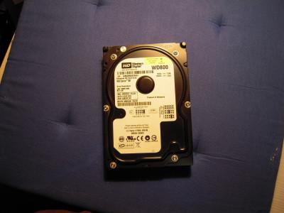 Hard Disk 80GB WESTERN DIGITAL, WD800JD-00JJC0, IDE UltraATA100, 7200 rpm foto
