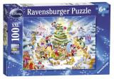 Puzzle Craciunul In Familia Disney