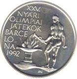 Ungaria 500 Forint 1989 (Olympic Games) Argint 28g/900, Aoc1 KM-671 UNC !!!, Europa