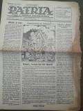 Ziarul Patria 21 aprilie 1946 regele Mihai