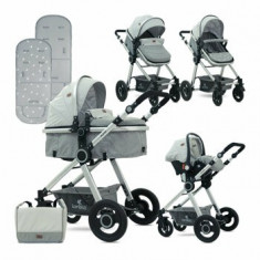 Carucior transformabil 3 in 1, Alexa, Grey Triangles