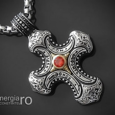 Pandantiv Cruciulita, Cruce din INOX - cod PND230