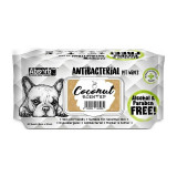 Absorbant Plus Antibacterian Pet Wipes Cocos, 80 bucati