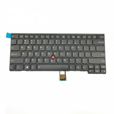 Tastatura Laptop IBM Lenovo Thinkpad T440 iluminata cu mouse pointer