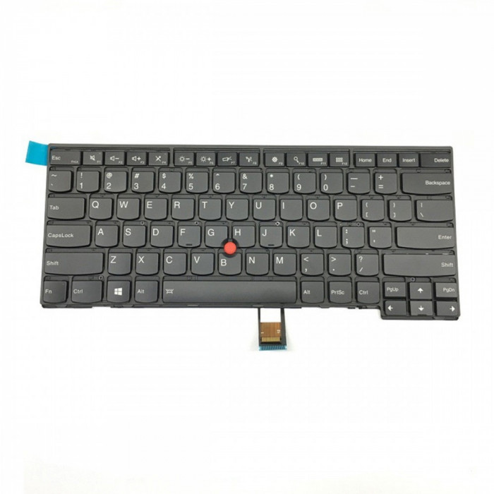 Tastatura Laptop IBM Lenovo Thinkpad T460 iluminata cu mouse pointer