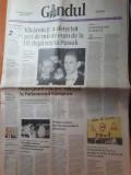 Ziarul gandul 6 mai 2005-curtea de arges, a doua capitala a tarii romanesti