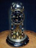 Elegant ceas antic șemineu, birou mecanic cu întoarcere la un an