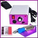 Pila Electrica Profesionala Unghii,  Freza Electrica Manichiura 25000 rpm