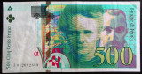 Bancnota 500 FRANCI - FRANTA, anul 1994   *cod 193  XF - VALOARE MARE!