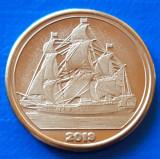 Tortuga 10 cent 2019 UNC Corabie