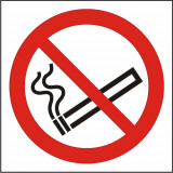Indicator Fumatul interzis(1) - Semn Protectia Muncii