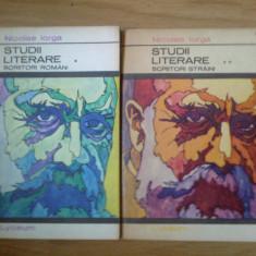 d6d Nicolae Iorga - Studii literare (2 vol)