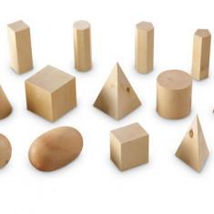 Forme geometrice din lemn (set 19), Learning Resources