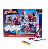 Puzzle 3 in 1 Spider-Man