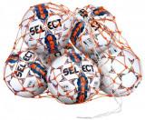 Plasa pentru transport mingi de fotbal, din nailon, capacitate 14-16 mingi marimea 5, Select