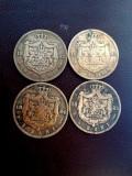 LOT MONEDE 5 BANI 1882,83,84,85