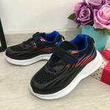 Cumpara ieftin Adidasi negri foarte usori cu scai pt baieti pantofi sport copii 25 26 27 28 30, Fete