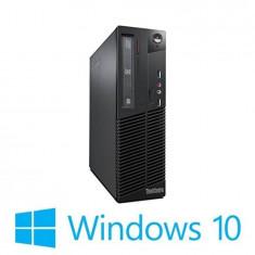 PC Refurbished Lenovo ThinkCentre M72e DT, i5-3470, Win 10 Home