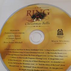 RING  CHRISTMAS BELLS - MORMON TABERNACLE CHOIR -   CD