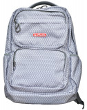 Rucsac Herlitz Foggy Cu Un Compartiment, Suport Laptop Si Tableta, 44 x 29 x 16 Cm, Motiv Gray Herlequin